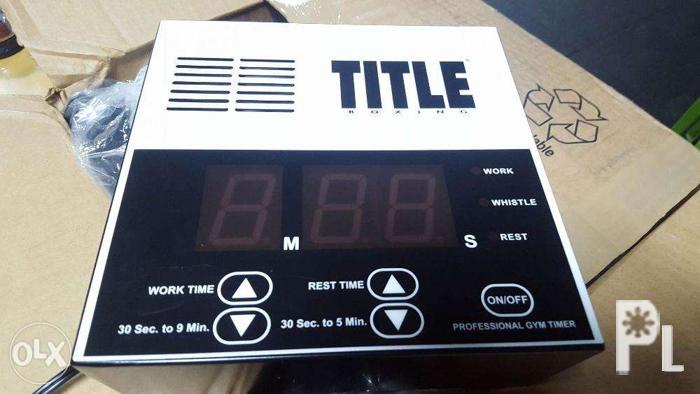 MMA/Boxing Timer Title for Sale in Quezon City, National