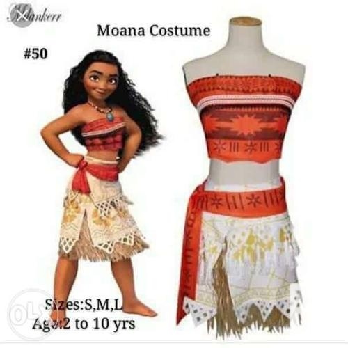 Moana costume kids