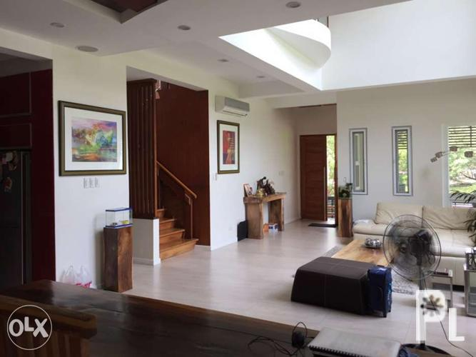 Modern house for sale vista real classica quezon city for for Modern house quezon city