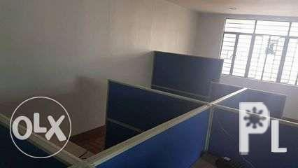 Modular Cubicle and Office Partition in full fabric