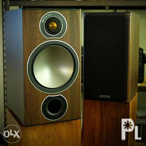 Monitor Audio Bronze B2 plus Onkyo speakers for Sale in
