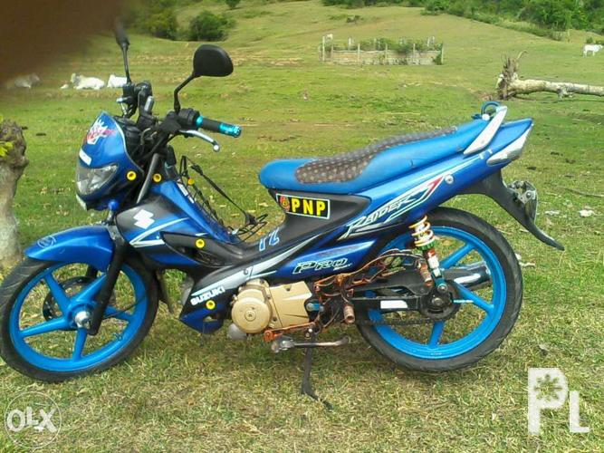 MOTORCYCLE suzuki raider j pro manual clutch / swap