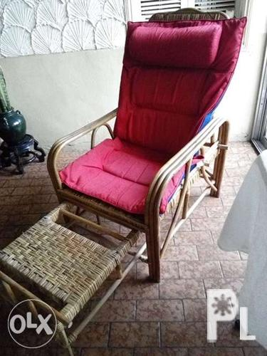 Moving home sale reclinable rattan chair for sale in quezon city national capital region Home furniture quezon city