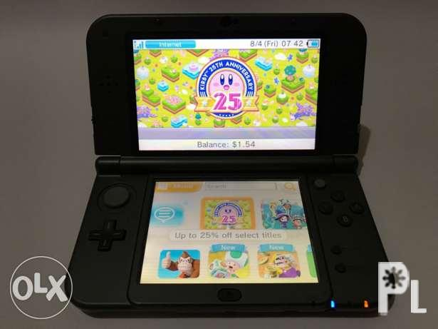 N3DS XL (MDE US version) with Games