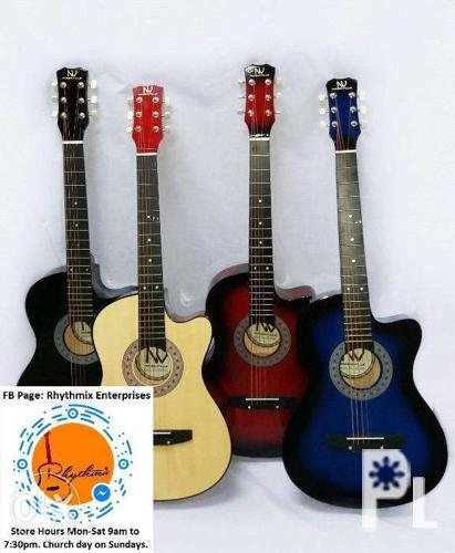 Nashville Acoustic Guitar Brand New With Freebies