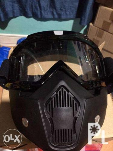 New Airsoft mask or Motorcycle modular goggles with