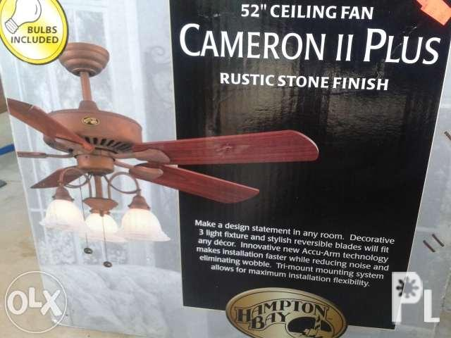 New Ceiling Fan with Lamp Sale