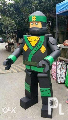 Ninjago Cosplay Costume Hire or Rent