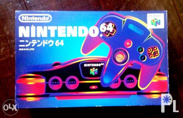 Nintendo N64 With Box