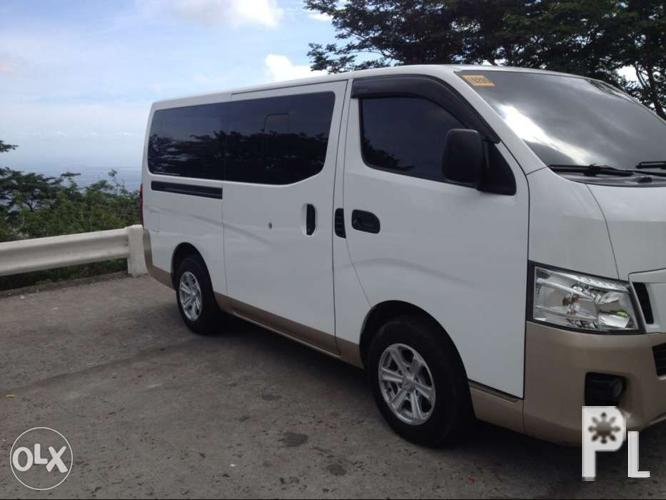 nissan nv350 2015 (sale swap fortuner or montero 2012