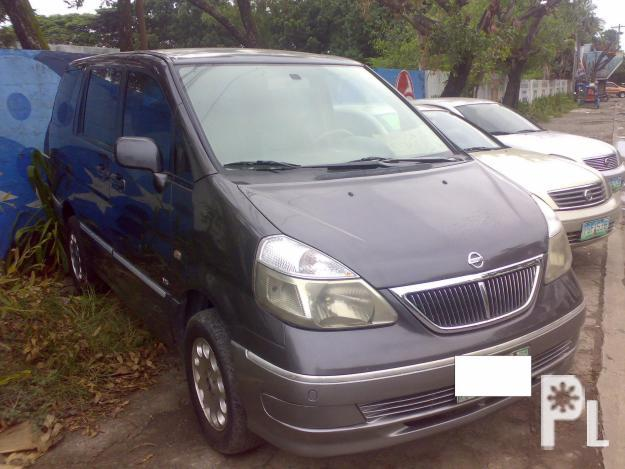 Nissan Serena QRVR Limited Edition 2002 model
