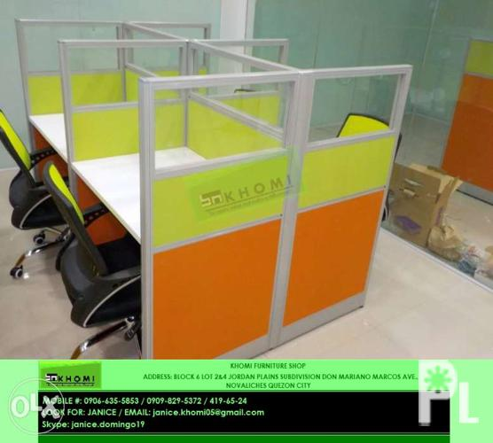 Office Furniture Customize Office Partition Cubicle
