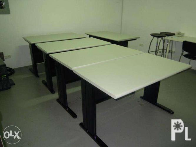 Office Staff Table W Modesty Office Furniture Partition For Sale In Quezon City National