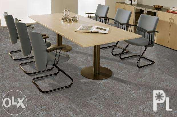 Office Table Office Furniture Chairs Carpet Tiles Rolls Cost U Less For Sale In Manila National