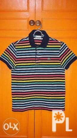 4c4e59ddc1b Original Authentic Lacoste Stripe Polo Shirts Used for Sale in