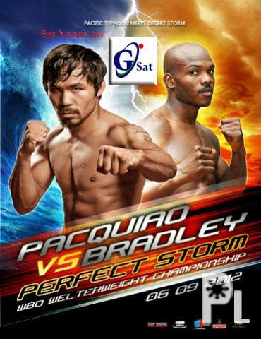 Pacquiao-Bradley PPV for now on GSAT ? Davao City