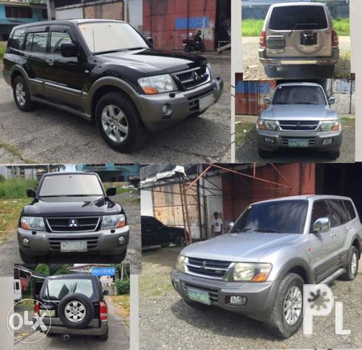 Pajero Shogun 4M41 2 Units Commercial and Imported for Sale in Davao