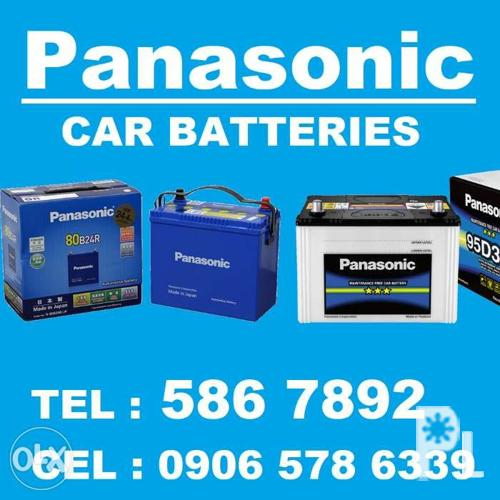 Panasonic Car Batteries - Free Delivery within Metro