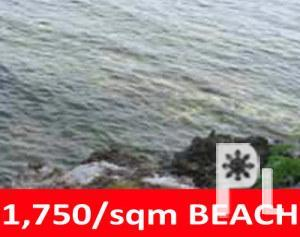 PANGLAO BOHOL BEACH LOT FOR SALE BEACHFRONT FOR SALE IN