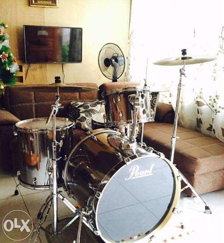 Pearl Export Drumset W Zildjian Cymbals For Sale In Tagum City