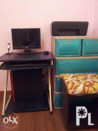 Personal computer with hp printer