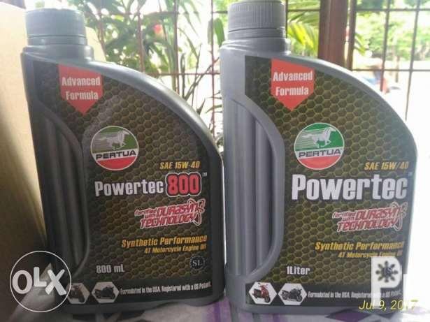 pertua powertec motorcycle engine oil 800 ml