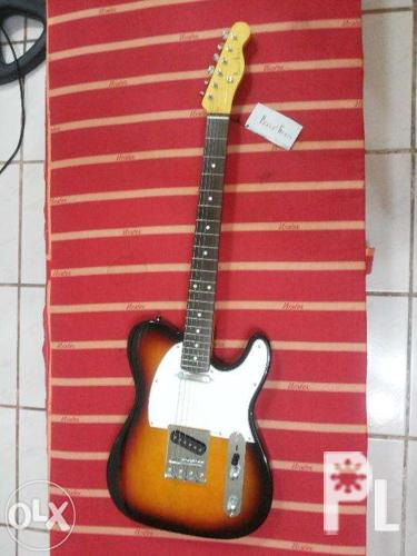 photogenic telecaster electric guitar for sale in quezon city national capital region. Black Bedroom Furniture Sets. Home Design Ideas
