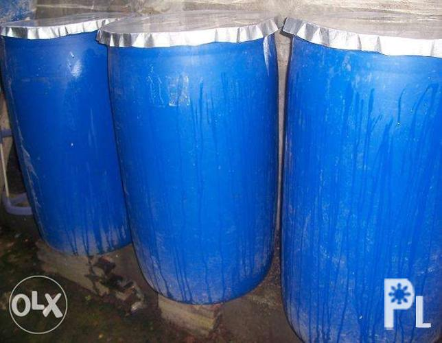 plastic drum 200 liters with cover