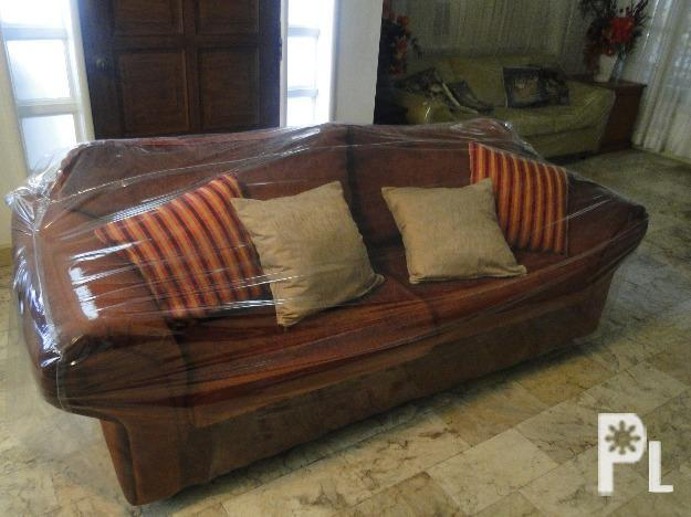Plush Burgundy Sofa W Accent Pillows Davao City For Sale In Davao City Davao Region