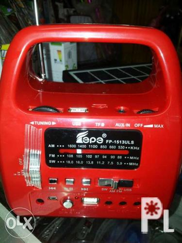 Portable solar lighting with am/fm radio system set for Sale in