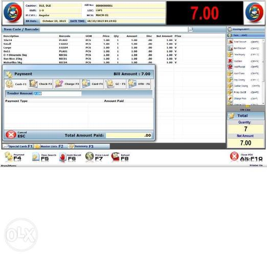 POS with Inventory Management System for Retail and
