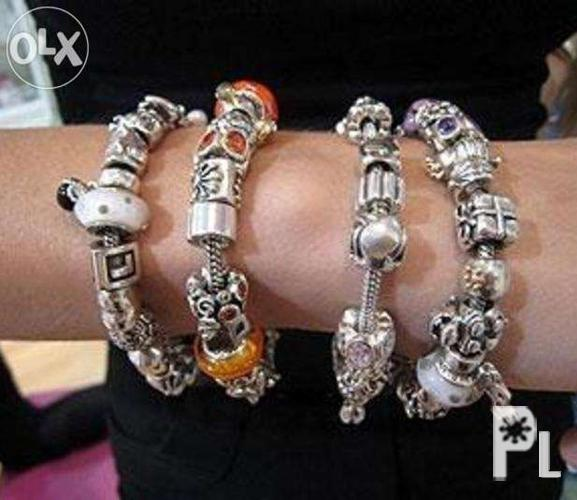 1ec76041a PREORDER Authentic Pandora Charm Bead Safety Chain Bracelet Ring for ...