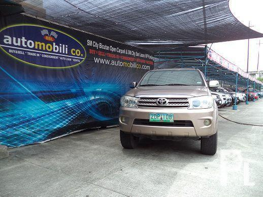Preowned Toyota Fortuner G, Petrol, 63360 km, Paranaque