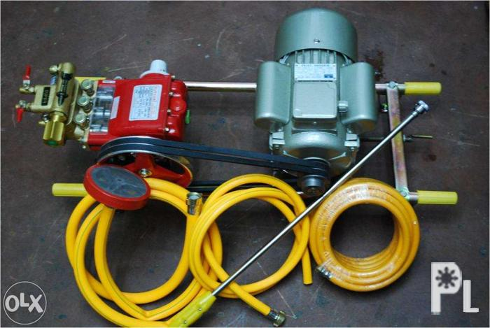 Pressure Washer Set With 1 5 Hp Electric Motor Heavy Duty