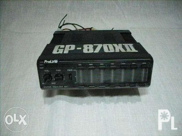 Proline Car Stereo Graphic Equalizer Booster for Sale in Quezon City