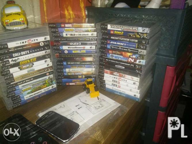 PS3 Games ALL Authentic