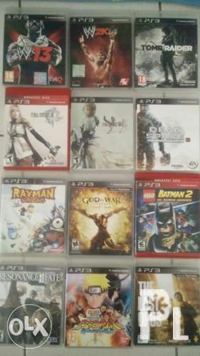 PS3 games for sale!!!