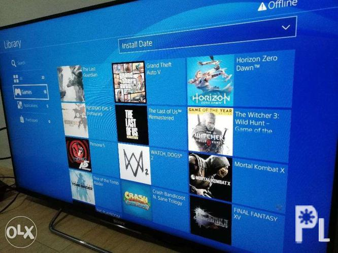 PS4 4 55 Jailbreak With Lots Of Good Games for Sale in