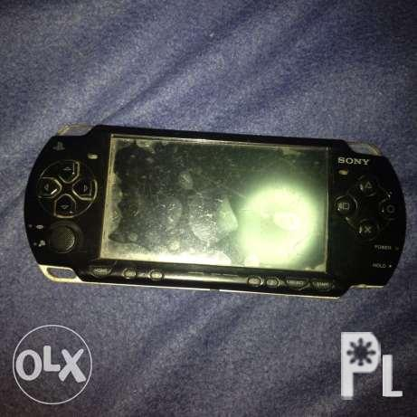 psp black and red