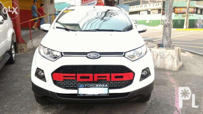 Raptor Grill Ford Ecosport Abs Plastic Imported