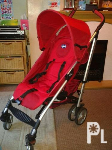 Red Chicco Liteway Stroller San Pedro For Sale In San Pedro Calabarzon Classified Philippineslisted Com