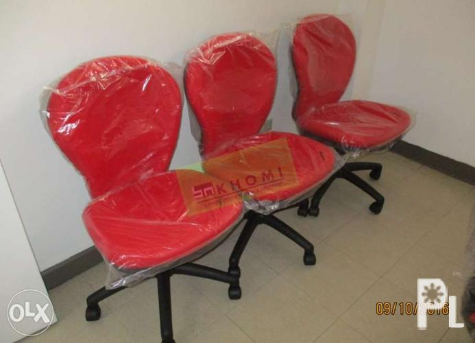 Red Customize Clerical Chair Office Furniture Office