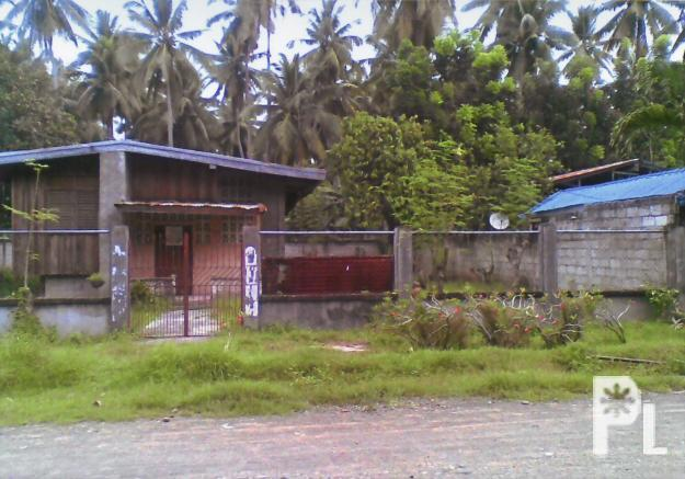 Residential lot with semi concrete house padada for sale for Semi concrete house