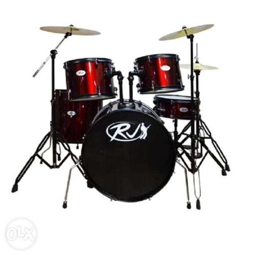 rj drum set with ride cymbals for sale in quezon city national capital region classified. Black Bedroom Furniture Sets. Home Design Ideas