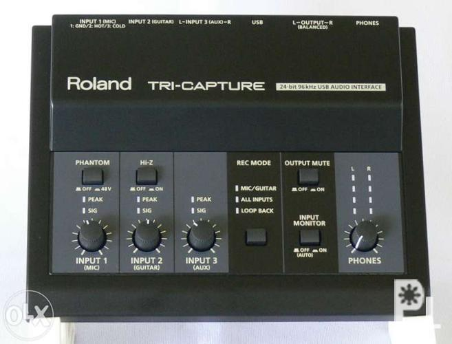 Roland UA-33 Tri Capture Audio Interface