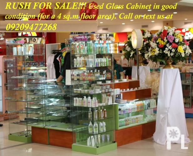 RUSH FOR SALE: Used Glass Cabinet ? Tacloban City