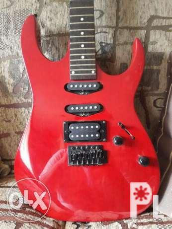 Rush Sale Negotiable Red Fernando Electric Guitar Ibanez Style For