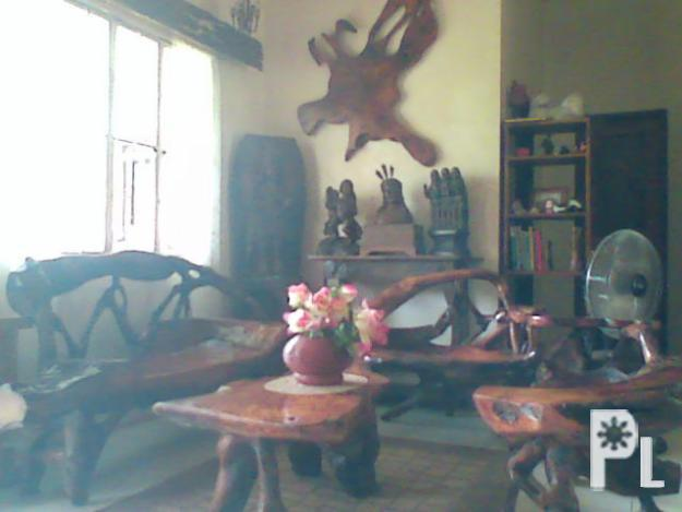 Sala set made of narra cuartero for sale in ivisan for Sala set for sale