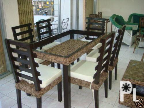 Sala Set Set Furniture Rattan And Abaca For Sale In Minalin Central Luzon Classified