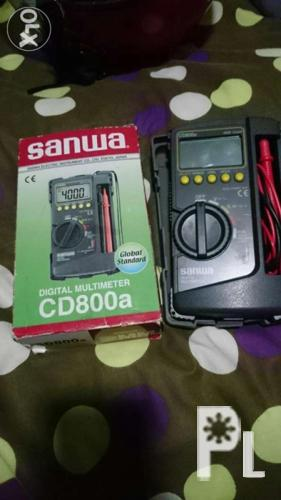 Sanwa digital and analog multimeter for sale or swap for